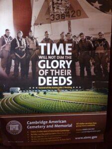 Cambridge American Cemetary and Memorial